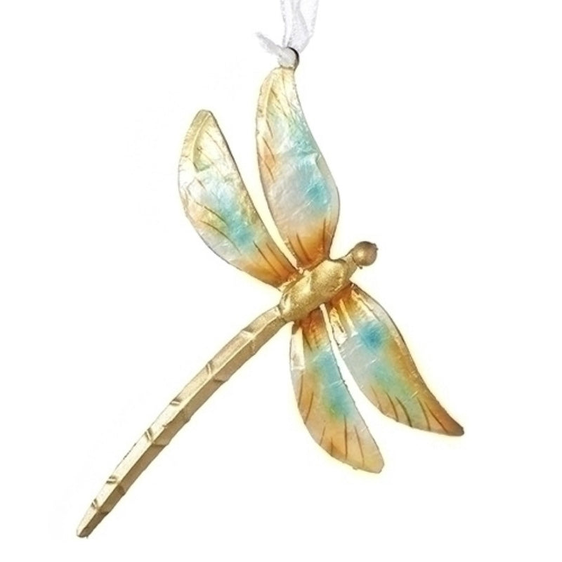 Capiz Shell Dragonfly Hanging Ornament