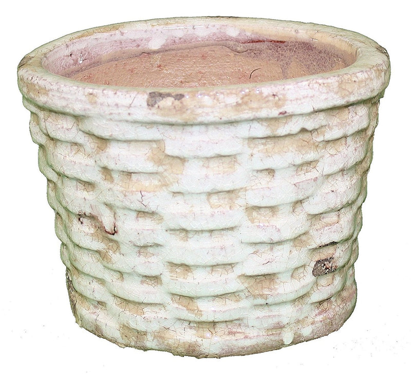 Terracotta Oval Basket Planter - 5 Inch
