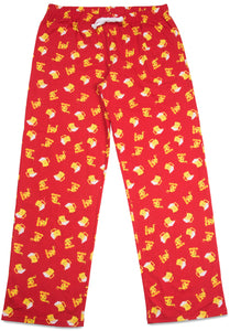 Beer and Pizza  Unisex Lounge Pants  -