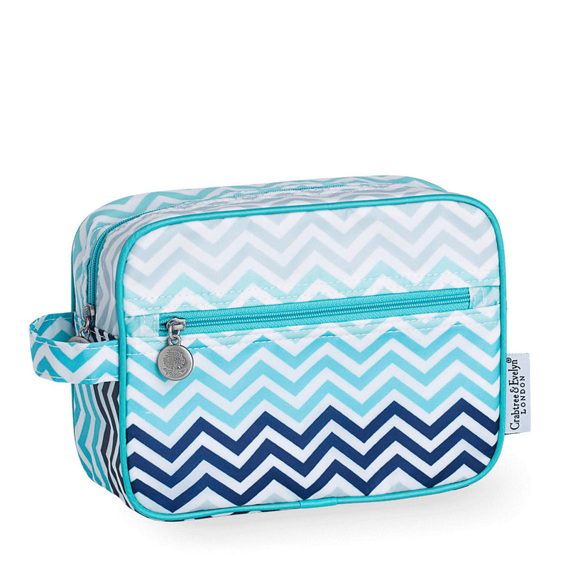 Chevron Cosmetics Bag