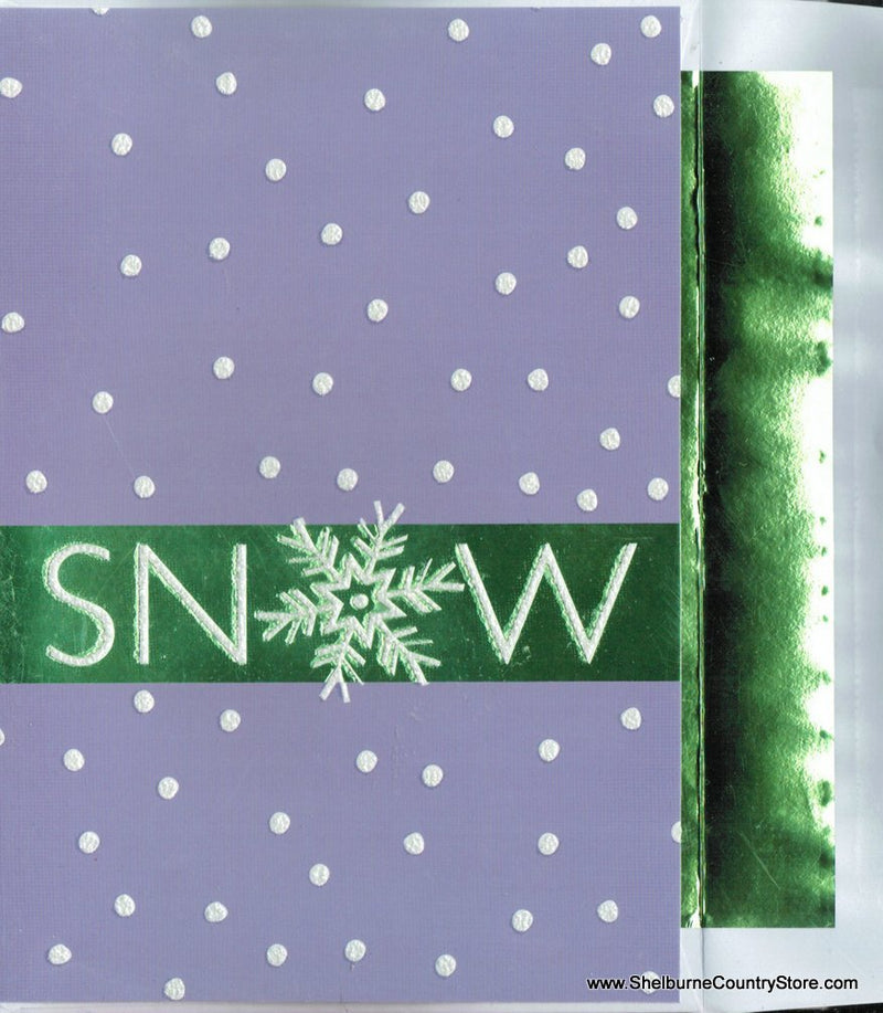 Luxury Greetings 18 Count - Snow