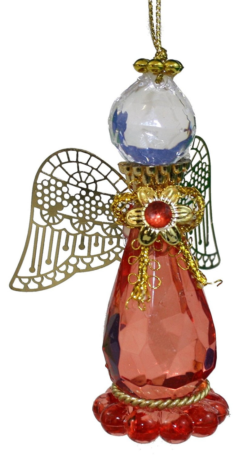 Birthstone Angel Ornament -