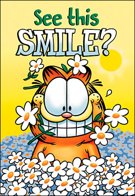 Garfield - Thank You - See This Smile?
