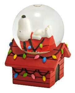 Snoopy Dog House Glitterdome