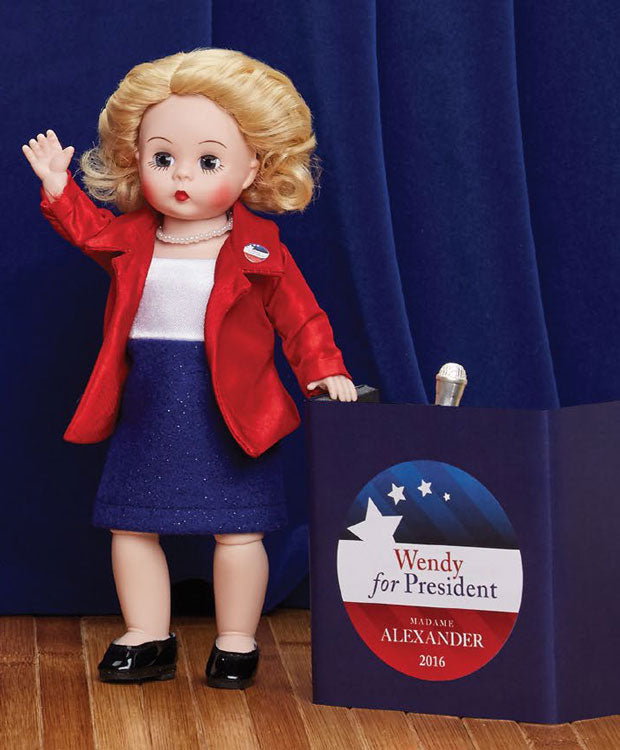 Madame Alexander Madame President Blonde Doll Includes Podium