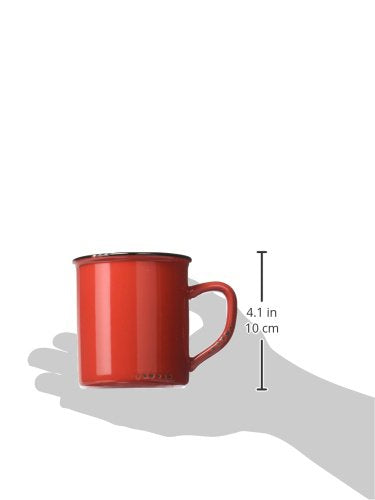 Enamel Red Mug