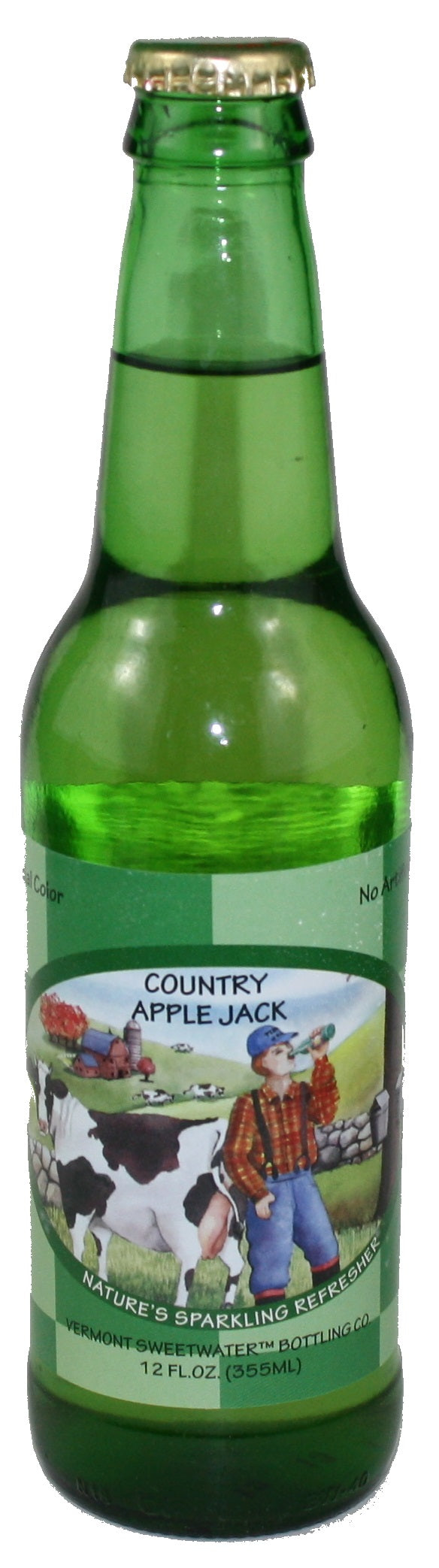 Vermont Sweetwater All Natural Glass Bottle Soda (Country Apple Jack)