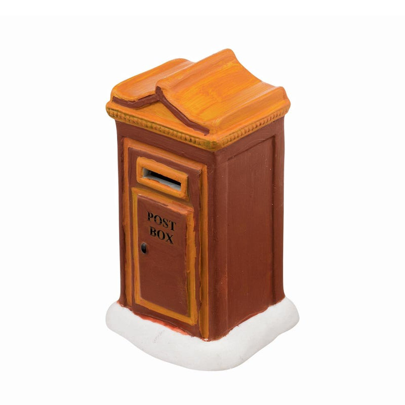 Department 56 Accessories For Villages Uptown Post Box Accessory Figurine, 2.25 Inch