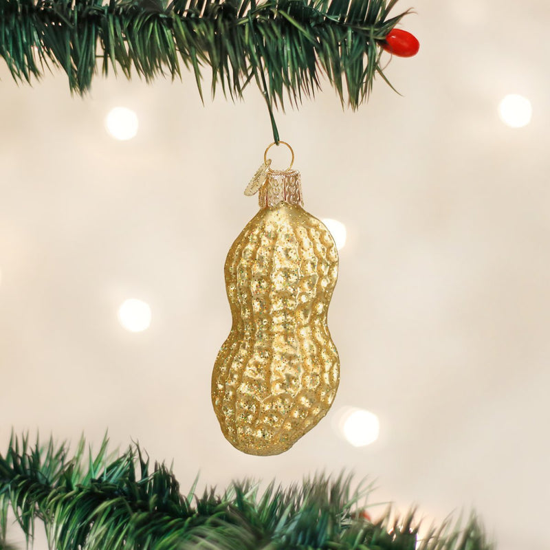 Old World Christmas Peanut Glass Ornament