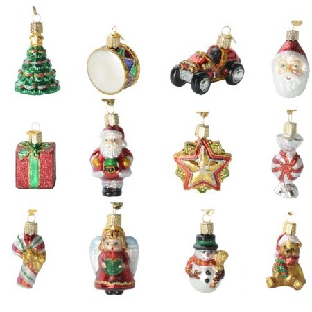 Old World Christmas Mini Christmas Set