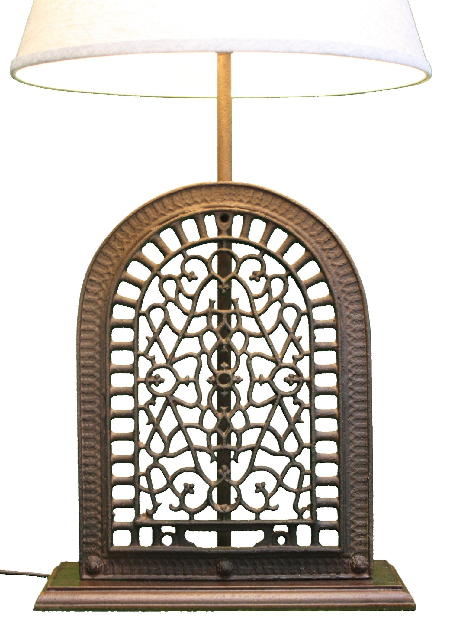 Cast Iron Grate Lamp By Park Designs