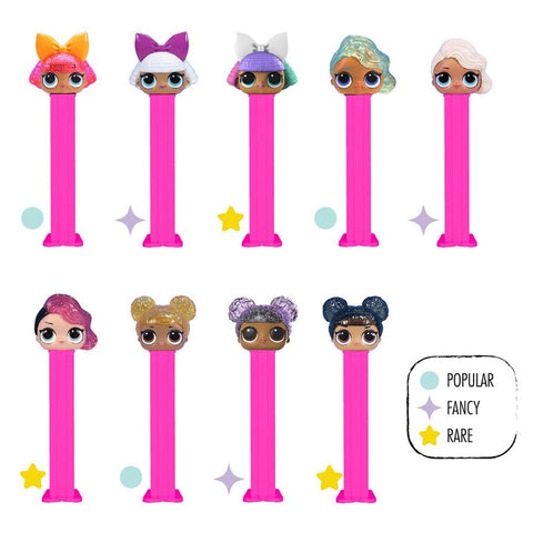Pez - LOL Surprise Pez with 3 Candy Rolls
