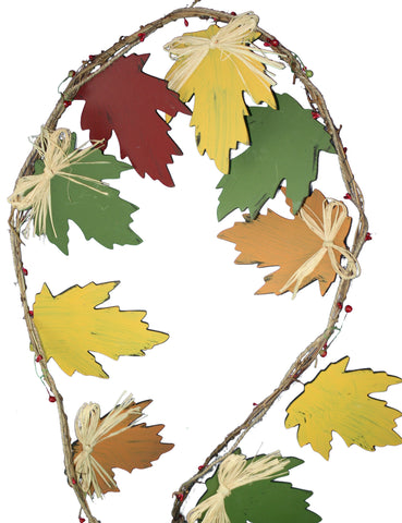 MDF Maple Leaf Garland