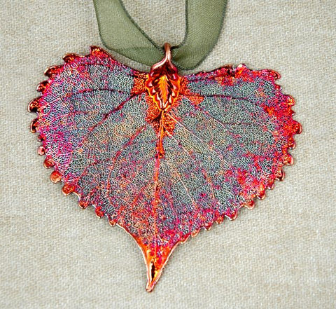Cottonwood Leaf Copper Iridescent