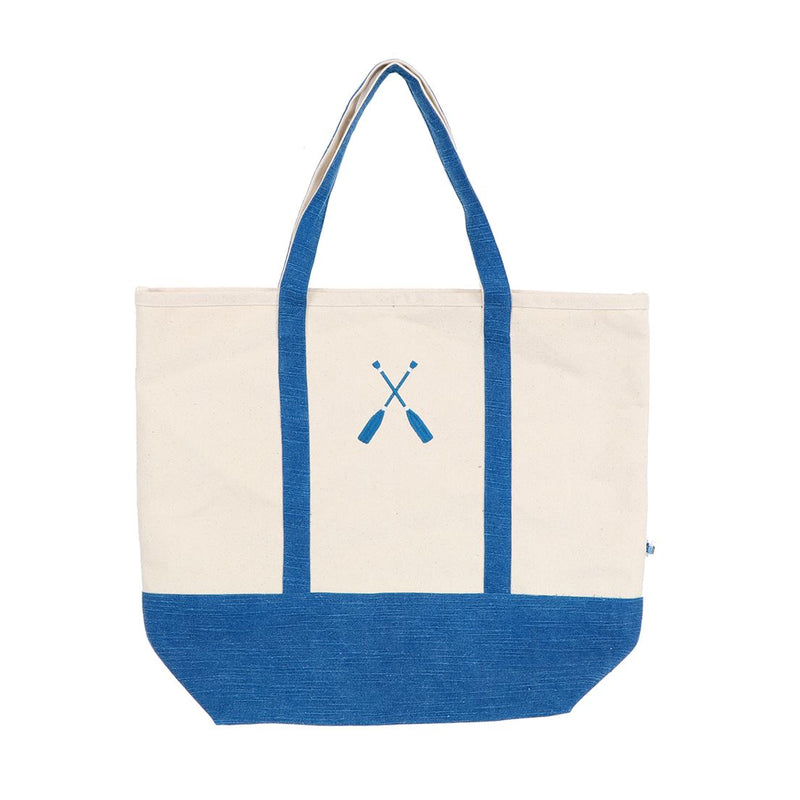 Embroidered Oar Tote Bag