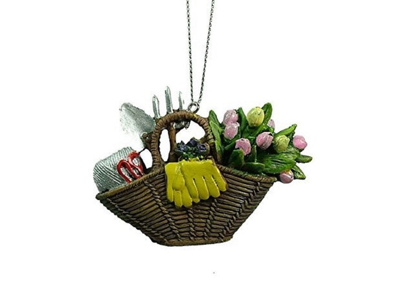 Garden Basket Ornament