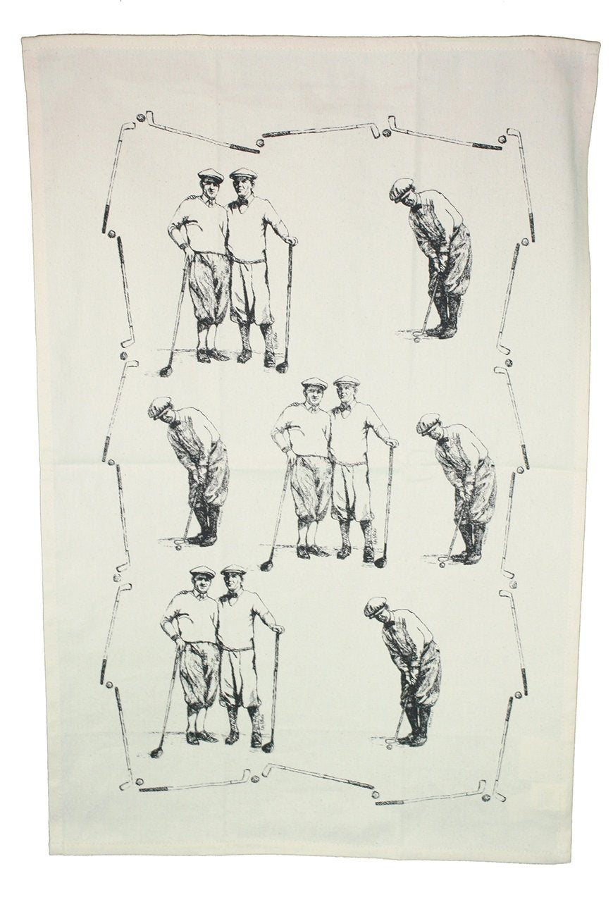"Morning Round ""Golf""  Kitchen Towel"