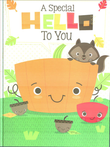 Thanksgiving Card - A Special Hello To You