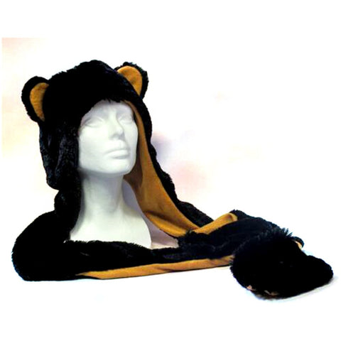 Adult Size Black Bear Hat