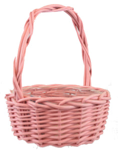 Willow Basket Spring Colors -