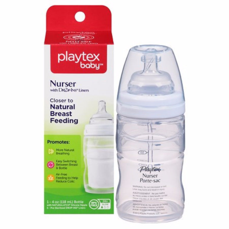 Platex Baby Nurser with drop-ins liners