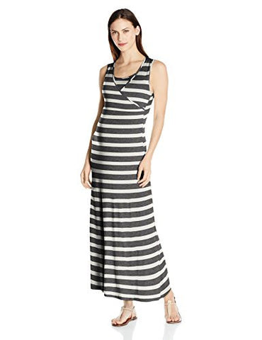 NOM Surplice Maxi Dress