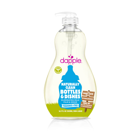 Dapple Baby Bottle And Dish Liquid - Fragrance Free