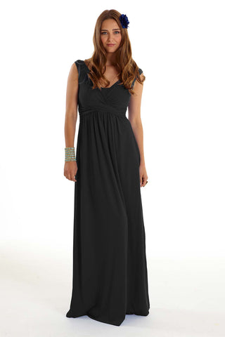 MEV Wrap Sleeveless Maxi Dress