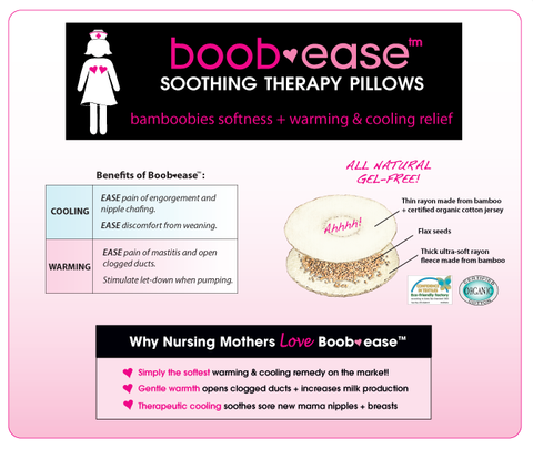 Boob-Ease Therapy Pillow from Bamboobies