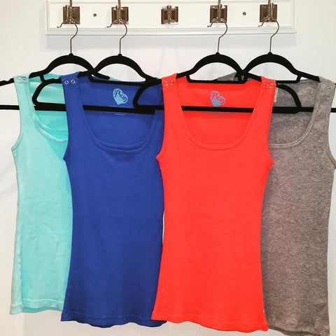 Nursing Snap Tank by Bun Maternity