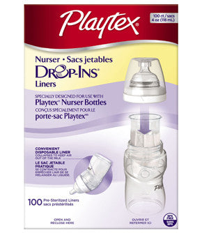 Playtex Disposable Baby Bottle Liners
