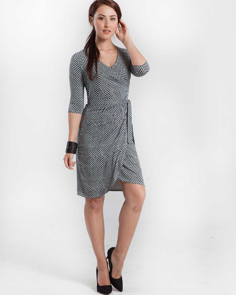 MEV Mod 38/4 Sleeve Wrap Dress