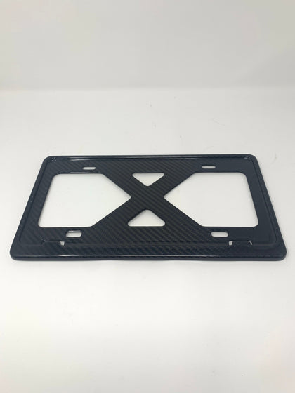 BLANK Slim Carbon Fiber Frame for TESLA / Luxury / Fits EURO / Domestic / Bmw /Porsche / Boringmod