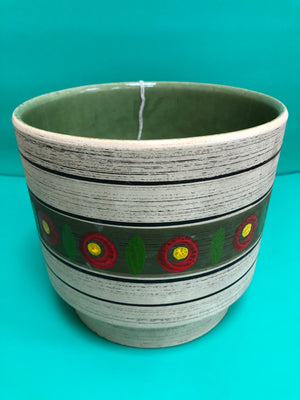 1970s West German Plant Pot
