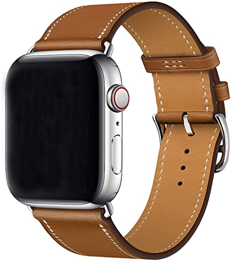 bracelet cuir iwatch 38mm