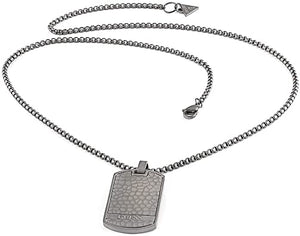 collier homme guess