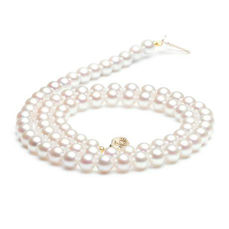collier perle blanche pas cher
