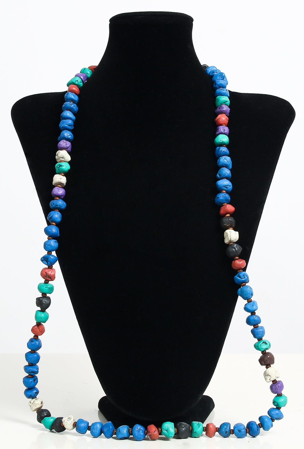 collier perle couleur turquoise