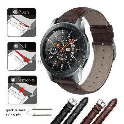 galaxy watch 42mm bracelet cuir