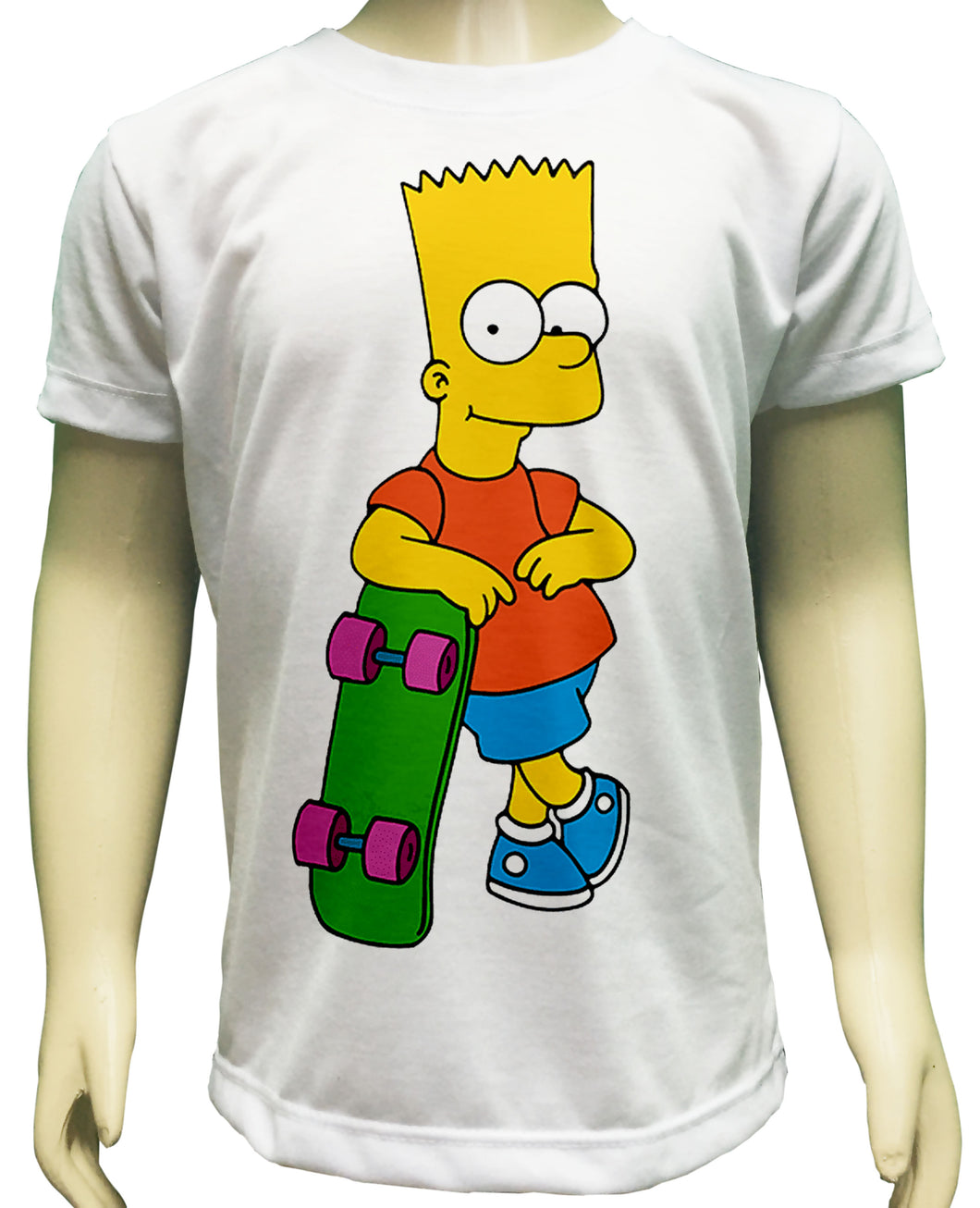 Camiseta Bart Simpson