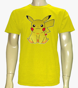 Camiseta Picachu Pokemon Adulto