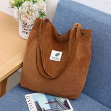Load image into Gallery viewer, Corduroy Tote Bag *