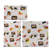 Load image into Gallery viewer, 3pcs Reusable Sandwich & Snack Bag *