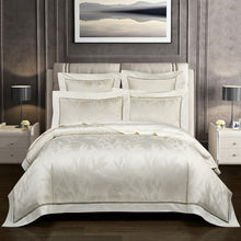 Load image into Gallery viewer, Vintage Chic Jacquard Duvet Cover set