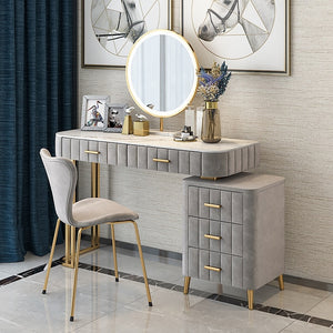 Nordic Solid Wood Dressing Table