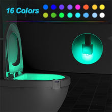 Load image into Gallery viewer, Toilet Seat Lights with Motion Sensor