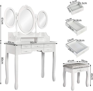 Europe Style Bedroom Dressing Table