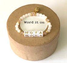 Load image into Gallery viewer, Kid size personalized bracelet