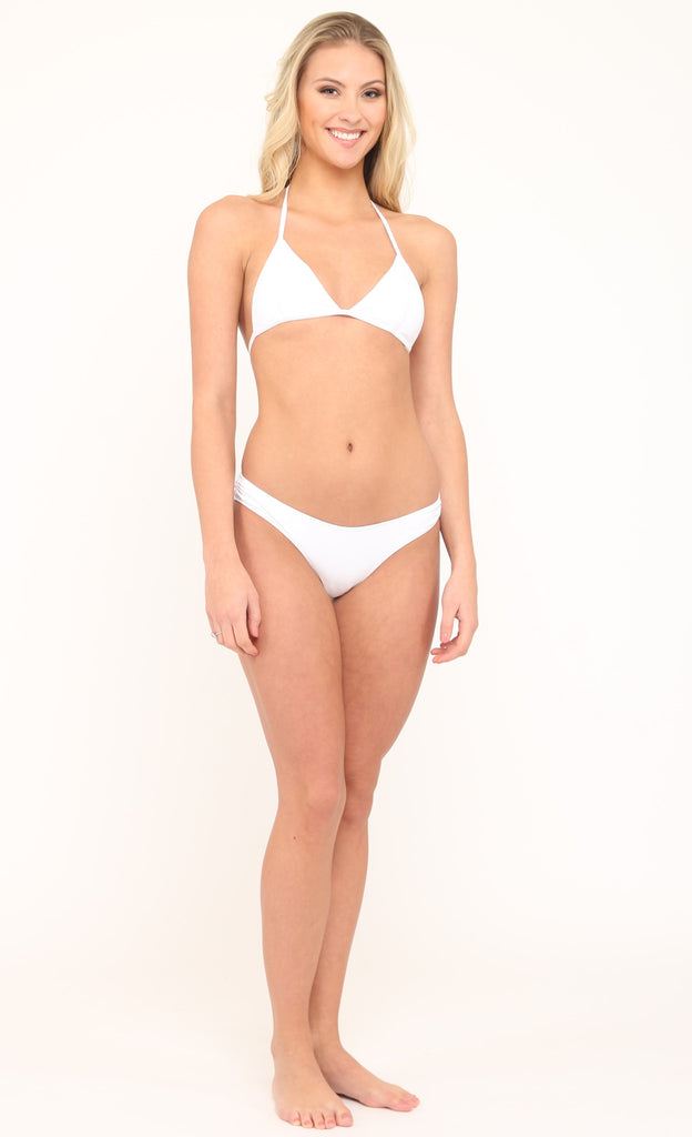 Triangle Top in White