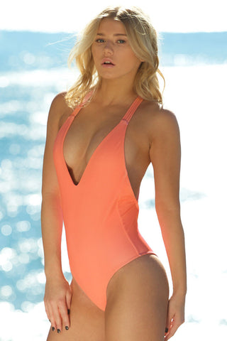 Corsetted One-Piece